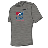Nike Youth USAWR Team Legend Crew Training Tee - Grey