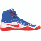 Nike Hypersweep Wrestling Shoe - Game Royal/Univ Red/White