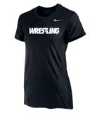 Nike Women's Wrestling Team Legend SS Crew - Black