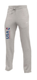 Nike Men's USAWR Club Fleece Pant - Heather Grey/Red/White/Navy