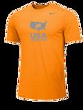 Nike Men's USAWR Team Legend SS Crew - Bright Ceramic/Grey