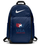 Nike USAWR Brasilia Training Backpack XL - Navy/Red/White/Navy