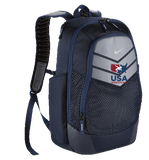 Nike USAWR Vapor Power Backpack - Navy/Silver/Red/White/Navy
