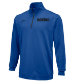 Nike Men's Boxing Dri Fit 1/2 Zip Top - Royal/Black