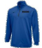 Nike Men's Boxing Dri Fit 1/2 Zip Top - Royal/Black