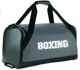 Nike Boxing Brasilia Medium Training Duffel Bag - Flint Grey/White
