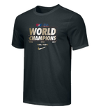Nike Men's USAWR Cotton World Championship Tee - Black