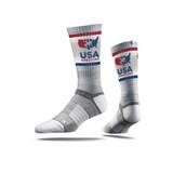Unisex USAWR Crew Sock - Grey