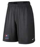 Nike Youth USAWR Fly Short - Grey/Red/White/Navy