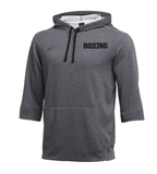 Nike Men's Boxing 3/4 Sleeve Flux - Grey/Black