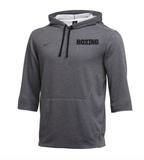 Nike Men's Boxing 3/4 Sleeve Flux - Grey/Black