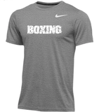 Nike Men's Boxing Dry Hyper SS Top - Grey/White
