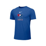 Nike Men's USAWR Distressed Logo Team Legend SS Crew - Royal Blue