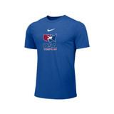 Nike Men's USAWR Distressed Logo Team Legend SS Crew - Royal Blue