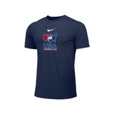 Nike Men's USAWR Distressed Logo Team Legend SS Crew - Navy