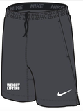 Nike Men'sWeightlifting 2 Pocket Fly Short - Anthracite/White