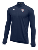 Nike Men's USAW Element 1/2 Zip Top - Navy/White