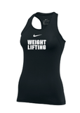 Nike Women's Weightlifting Pro Tank - Black/White