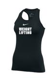 Nike Women's Weightlifting ProTank - Black/White