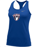 Nike Women's USAW Balance Tank 2.0 - Royal/Cool Grey