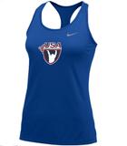 Nike Women's USAW Balance Tank 2.0 - Royal/Cool Grey
