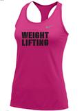 Nike Women's Weightlifting Balance Tank 2.0 - Vivid Pink/Cool Grey