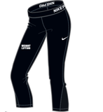 Nike Women's Weightlifting ProCool Capri - Black/White