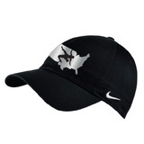 Nike Wrestling Campus Cap - Black/Metallic Silver