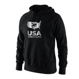 Nike Men's USAWR Precious Medal Club Hoody - Black/Metallic Silver