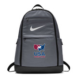 Nike USAWR Brasilia Backpack - Black/White