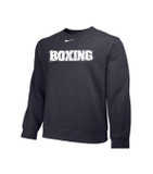 Nike Boxing Club Crew Fleece - Grey