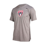 Nike USAW S/S Dri Fit Legend Shirt - Grey