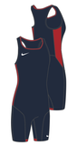 Nike Women's Weightlifting Singlet - Navy/Red