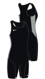 Nike Women's Weightlifting Singlet - Black/Pewter
