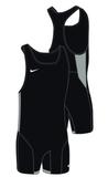 Nike Men's Weightlifting Singlet - Black/Pewter