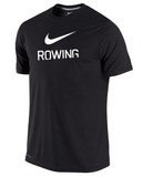 Nike Men's Dri-Fit Rowing Shirt - Black