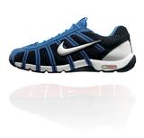 Nike Air Zoom Fencer Obsidian / White / Light Blue Fencing shoe