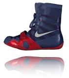 Nike HyperKO - Obsidian / Red / Silver