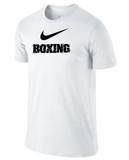 Nike Men's Cotton Boxing Shirt - White / Black