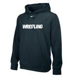 Nike Youth Club Fleece Wrestling Hoody - Grey