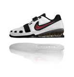 Nike Romaleos 2 Weightlifting Shoes White / Black / Red