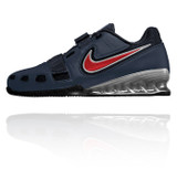 Nike Romaleos 2 Weightlifting Shoes - Obsidian / Red / White