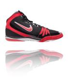 Nike Freek Black / Red / White Wrestling Shoe