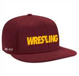 Nike Vapor Wrestling Cap - Maroon / Gold