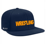 Nike Vapor Wrestling Cap - Navy / Orange