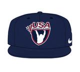 Nike USAW True Swoosh Flex Cap - Navy