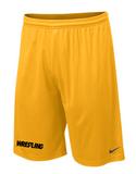 Nike Wrestling Fly Shorts - Yellow / Black