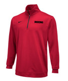 Nike Boxing Dri Fit 1/2 Zip Top - Red / Black