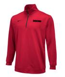 Nike Boxing Dri Fit 1/2 Zip Top - Red / Black
