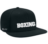 Nike Vapor Boxing Cap - Black / White